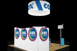 Cox Contour Trade Show Booth