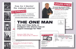 Direct Mailer Cold Donor Test 1