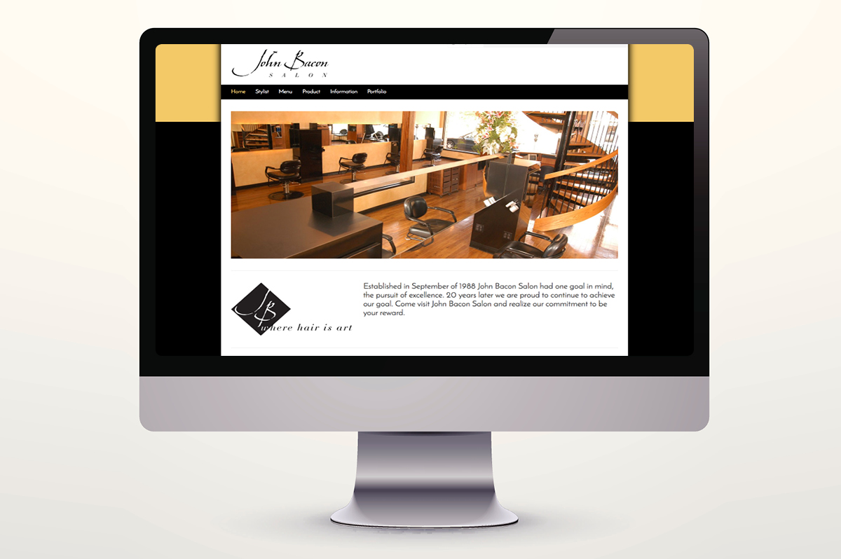 John Bacon Salon Website