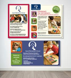 Quest Montessori School Ads