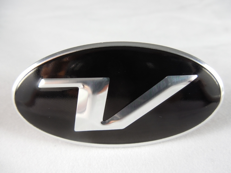 Veloster V Steering Wheel Emblem