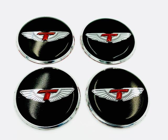 T-Wing Wheel Cap Emblems