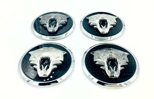 Tiger Wheel Cap Emblems