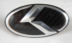 K Steering Wheel Emblem