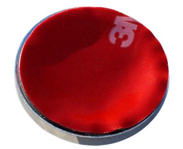 86 Shift Knob Emblem Backside