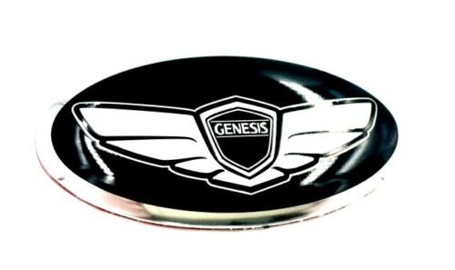 Genesis Wing Steering Wheel Emblem