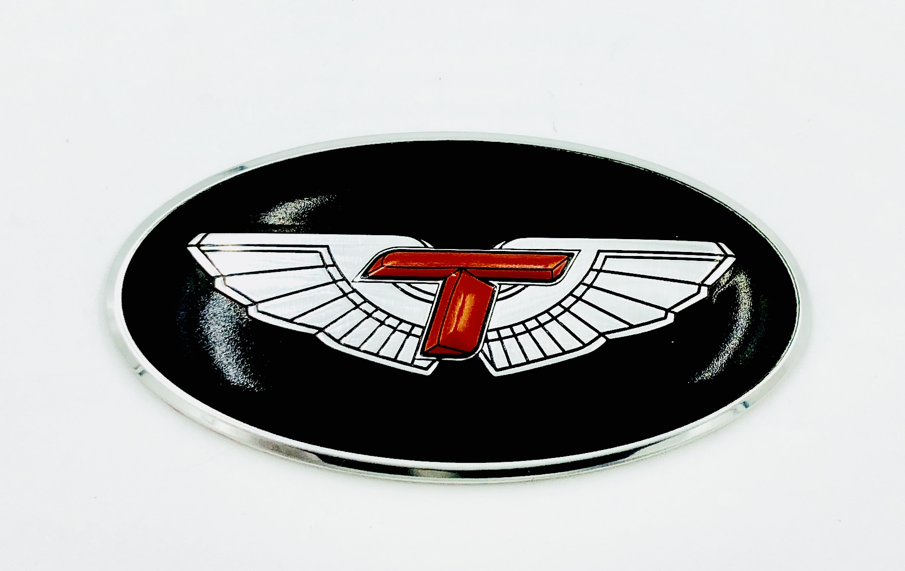 T-Wing Steering Wheel Emblem