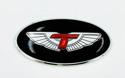 T-Wing Steering Wheel Emblem