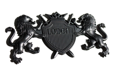 """Lion """"Coat of Arms"""" Badge"""