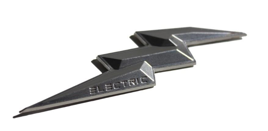 Electric Volt Emblem