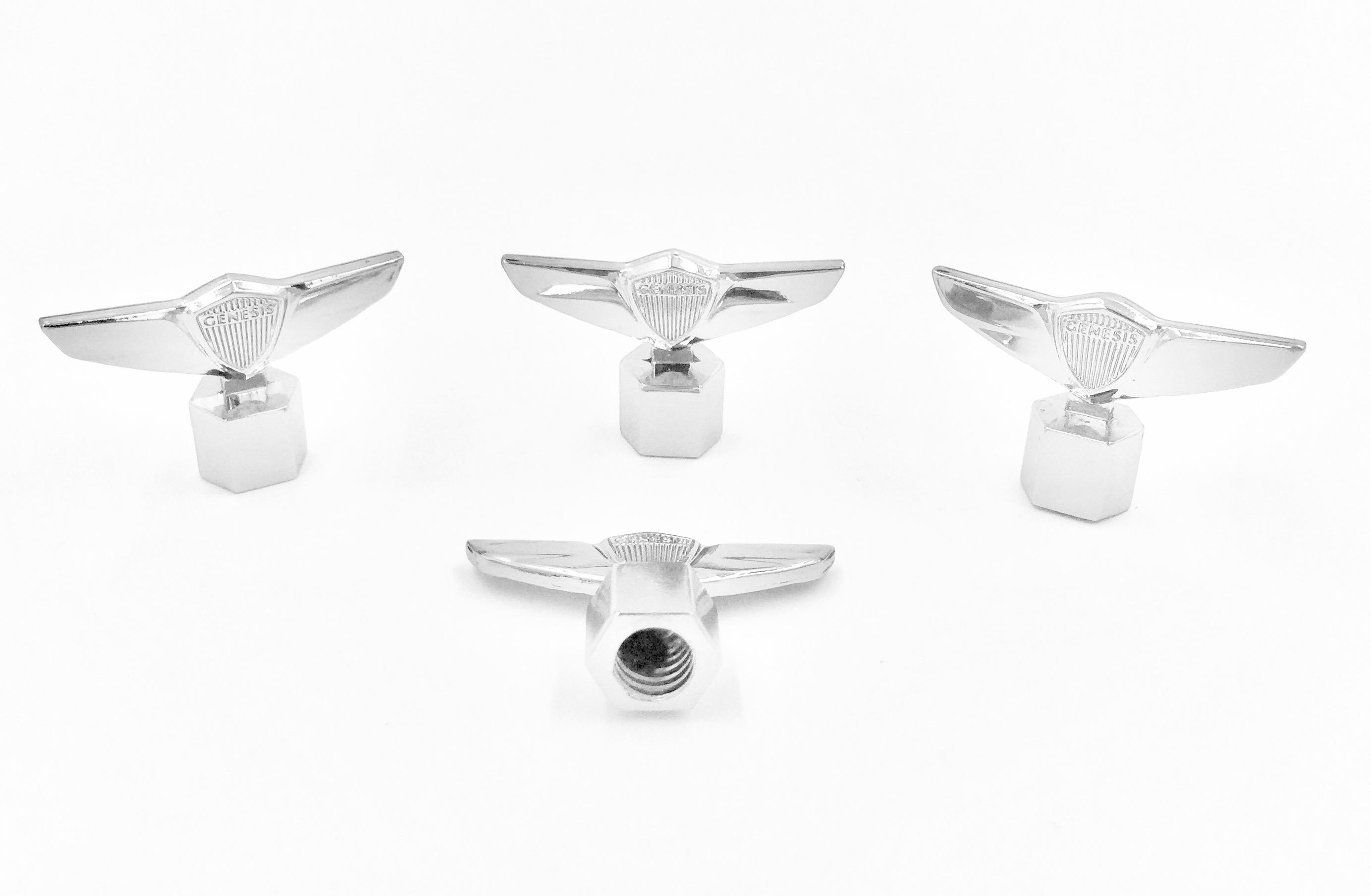 Genesis Wing 3D Valve Caps