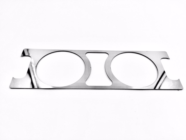 Crossfire Stainless Facia Bezel