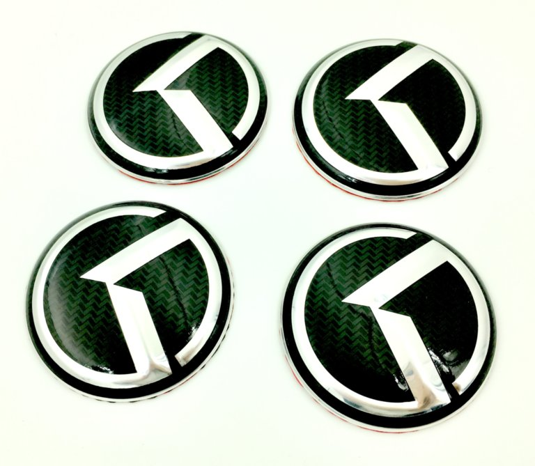 K Wheel Cap Emblems