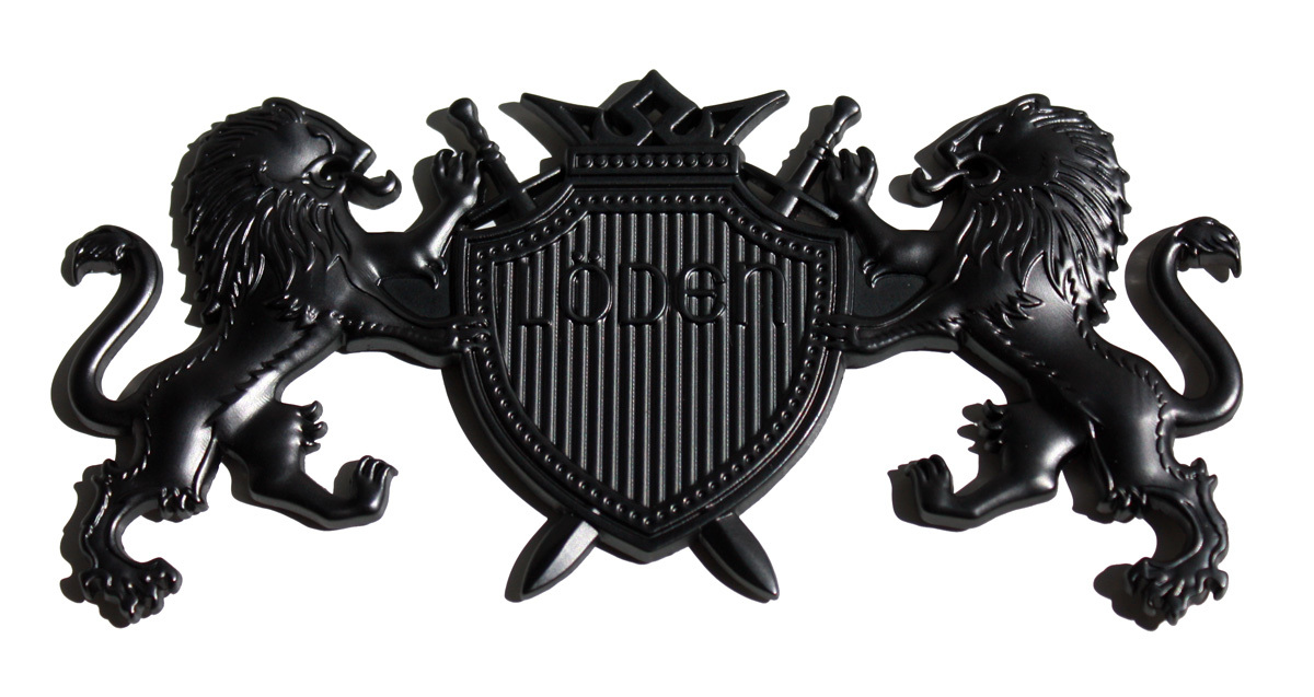 "Lion ""Coat of Arms"" Badge"