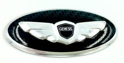 Genesis Wing Steering Wheel Emblem