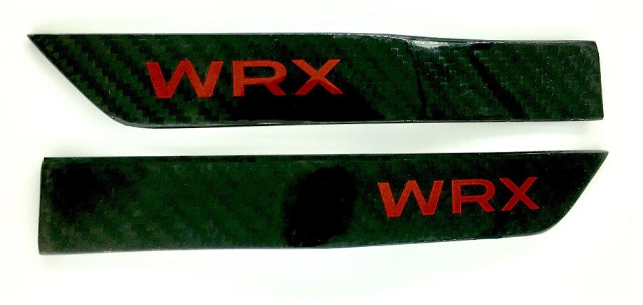WRX Carbon Fender Emblems