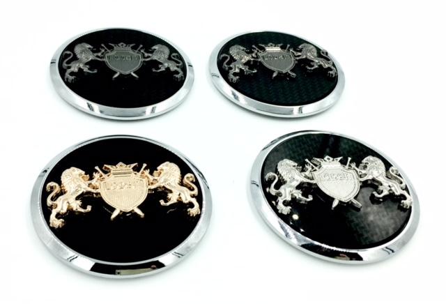 Lion Wheel Cap Emblems