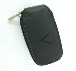 K logo Leather Key Case