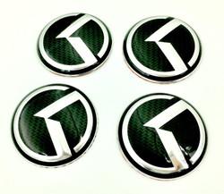 Carbon K Wheel Caps