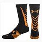 Under Armour Undeniable Crew Sock - Orange/Black
