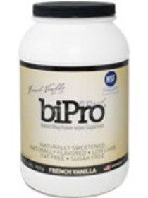 BiPro, Whey Protein Isolate 2lb Jar - French Vanil
