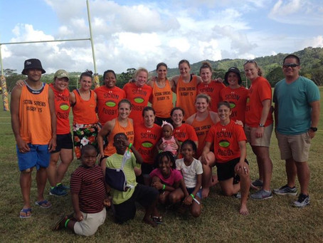 The Scion Sirens take third in Tobago 7s