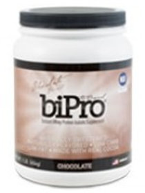 BiPro, Whey Protein Isolate 1lb Jar - Chocolate