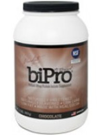 BiPro, Whey Protein Isolate 2lb Jar - Chocolate