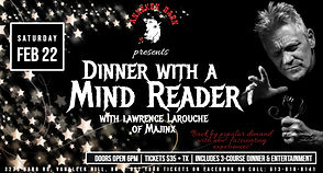 Dinner w_Mind Reader Poster - Made with