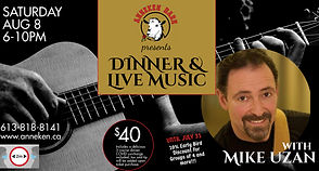 Dinner  Live Music with Mike Uzan - Made