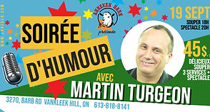 Martin Turgeon Event Banner - Made with