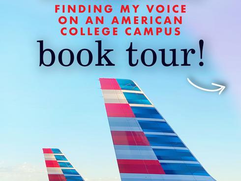 Book tour details!!