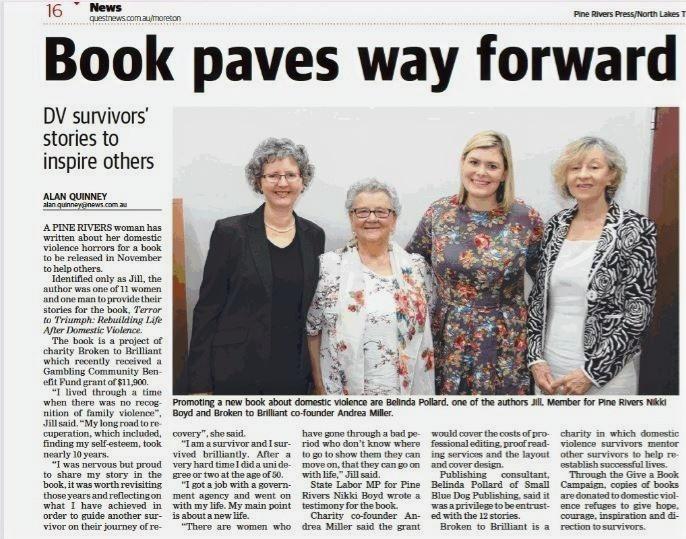 Nikki Boyd, State Labor MP for Pine Rivers, Belinda Pollard, Jil & Andrea