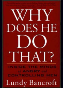 Book cover Why does he do that? by Lundy Bancroft