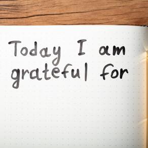 Learning the balance of gratitude