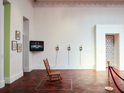 Installation view of 'We're not too big to care' at The Gus Fisher Gallery, 2019