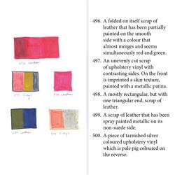 Colour studies and descriptions
