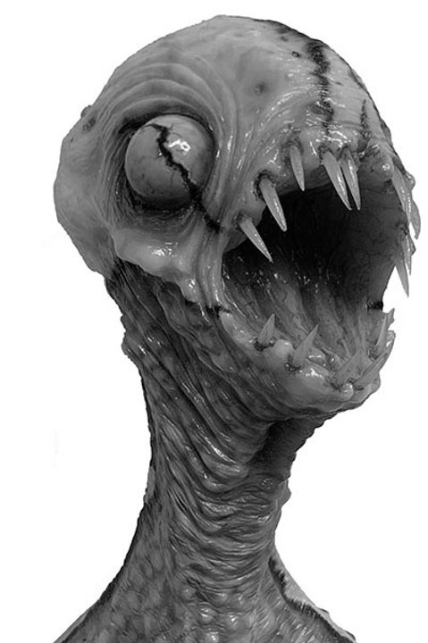HATCHLING RESIN MODEL KIT