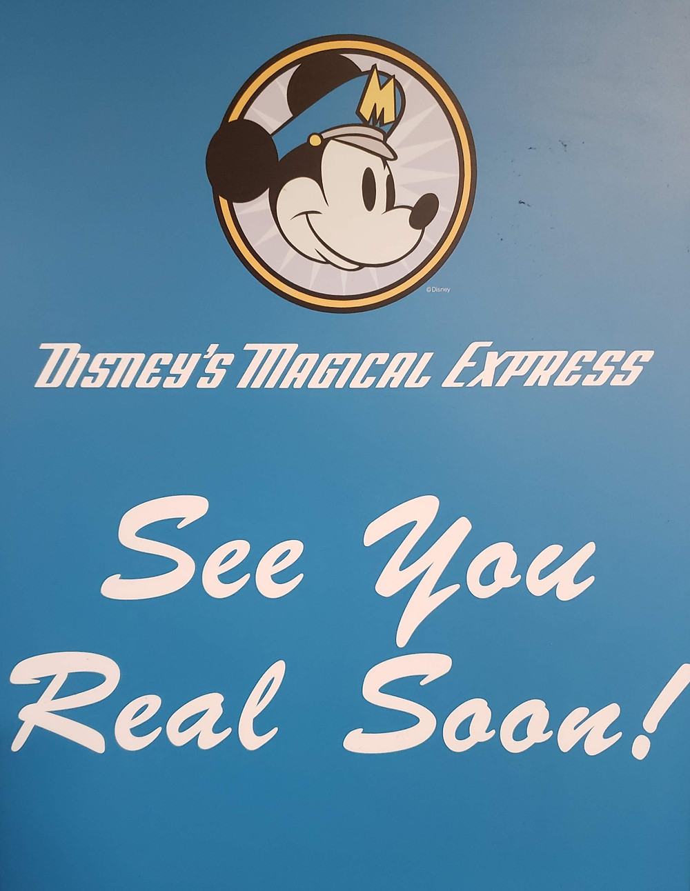 This sign bids you farewell at MCO