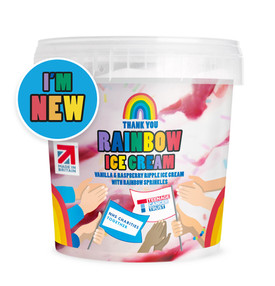 ALDI LAUNCHES RAINBOW ICE CREAM TO RAISE FUNDS FOR CHARITIES