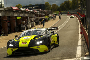 Podium start to the British GT Season Opener for Beechdean AMR