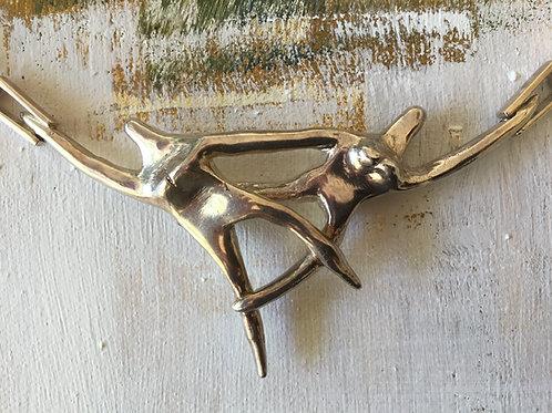 Jocale Dancers Sterling Silver