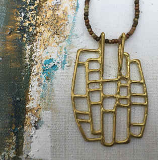 La Bohemienne Rectangle Brass