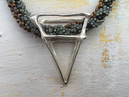 Il Passagio Triangle Sterling Silver