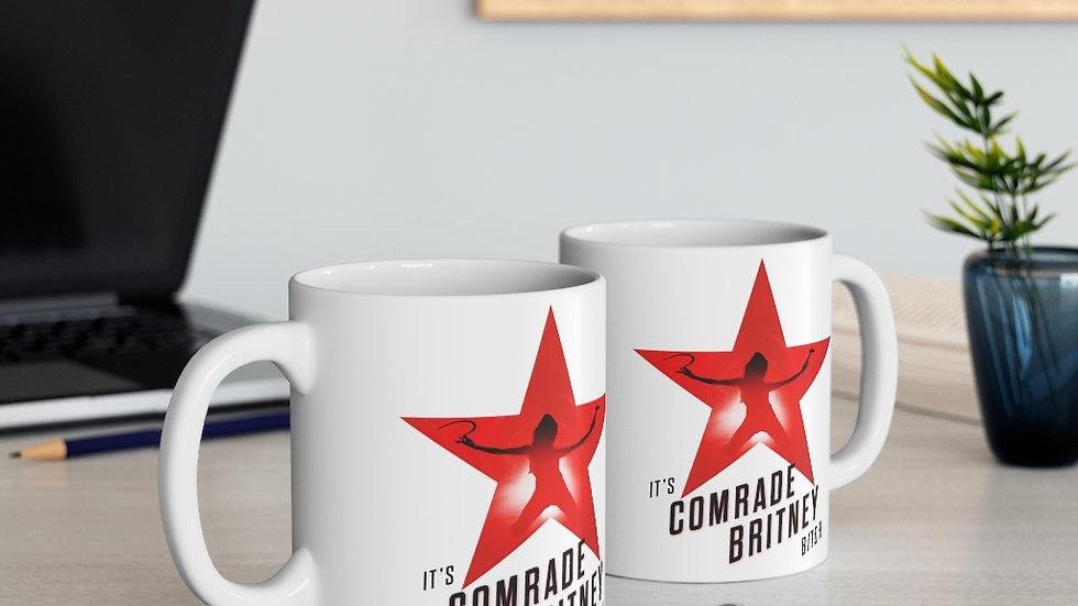 COMRADE BRITNEY Mug (@MemeIndustrialComplex)