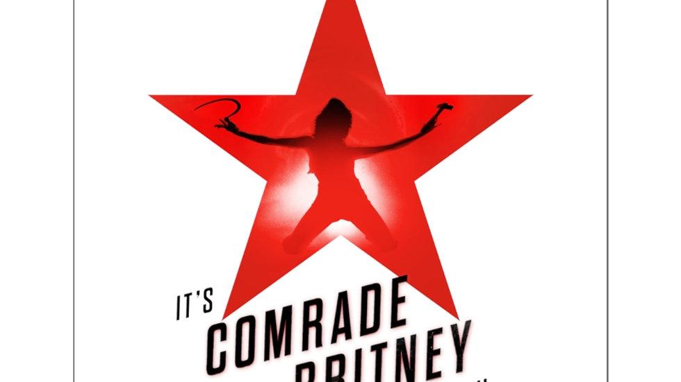 COMRADE BRITNEY Sticker (@MemeIndustrialComplex)