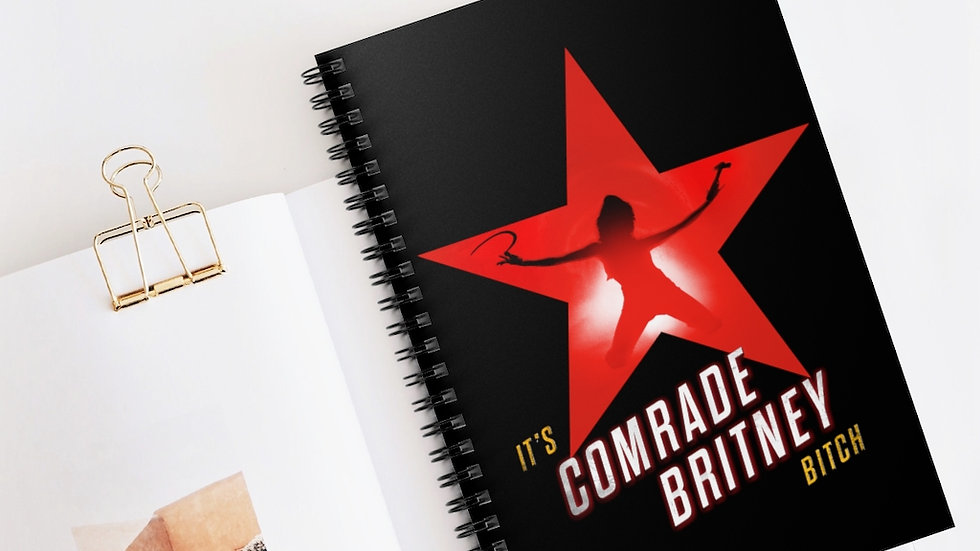 COMRADE BRITNEY Notebook (@MemeIndustrialComplex)