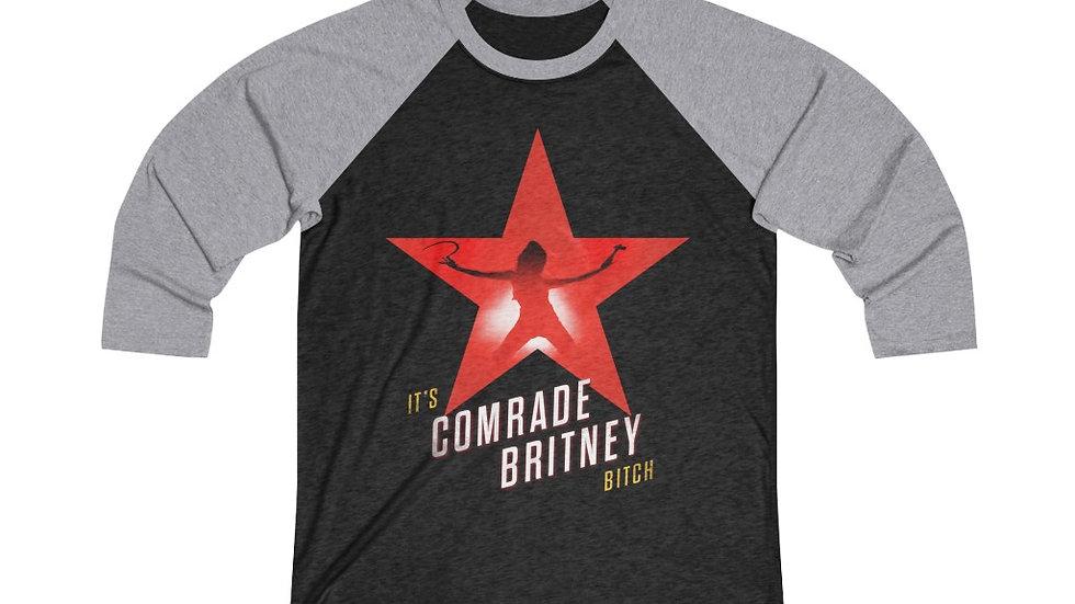 COMRADE BRITNEY Raglan Shirt (@MemeIndustrialComplex)