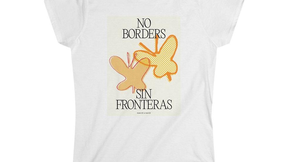 NO BORDERS Feminine Shirt (@laurrojas)