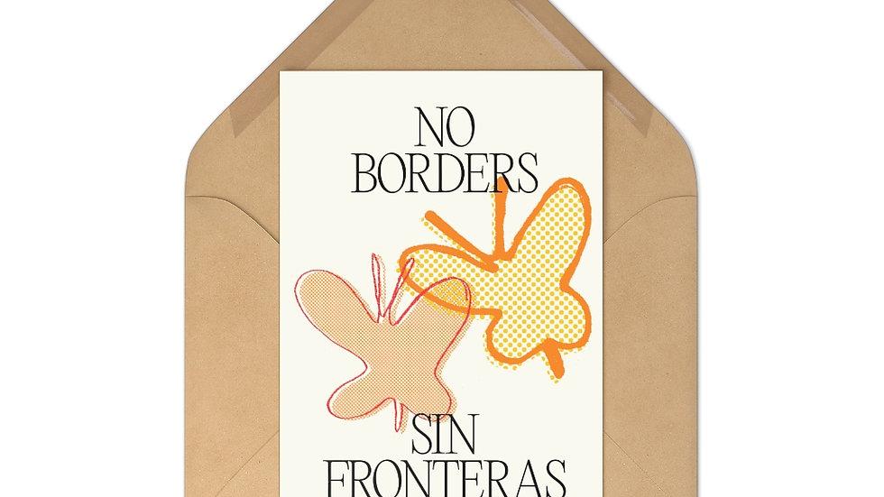 NO BORDERS 7 Postcards w/ Envelopes (@laurrojas)